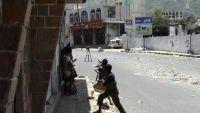 نجاة فريق قناة الجزيرة مباشرة من عمليات قنص بتعز