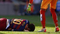 إصابة ميسي تثير القلق في المنتخب الأرجنتيني قبل تصفيات المونديال