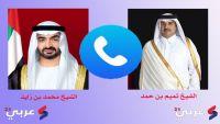 محمد بن زايد يتصل بأمير قطر.. محاولة جديدة لتلطيف الأجواء؟