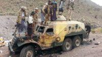 المقاومة الشعبية تسيطر على جبلي مضرح والمعصر في مديرية دمت بالضالع