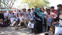 شهداء وجرحى تعز يطالبون بإنقاذهم (صور)