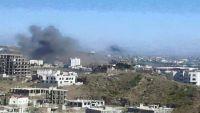 طيران التحالف يقصف مواقع وأهداف للحوثيين وقوات صالح بتعز وصنعاء والضالع
