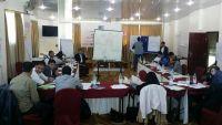 """اختتام دورة تدريبية لمجموعة من الصحفيين حول """"التغطية الإعلامية أثناء النزاعات"""""""