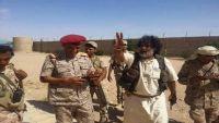 العكيمي يسلم عاصمة الجوف للجيش الوطني ويؤكد : قادمون يا صنعاء