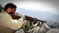 قصف مدفعي واشتباكات في جبهة القبيطة شمال محافظة لحج