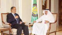 ولد الشيخ يلتقي أمين عام مجلس التعاون الخليجي لبحث جهود حل الأزمة اليمنية