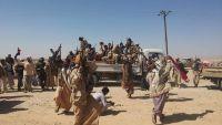 المقاومة تتقدم في غيل الجوف بعد انسحاب الشولان احتجاجا على مقتل العكيمي