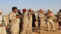 المقدشي يطلع على الجاهزية القتالية في ثلاث وحدات عسكرية بشبوة  (صور)