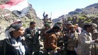 الضالع: المقاومة تقصف تجمعات للحوثيين في جبل ناصه بمريس