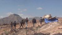 الضالع : قوات الجيش ورجال المقاومة بقعطبة يحرران موقع الذاري وجبل ناصة الاستراتيجي