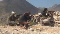 مقتل أحد مسلحي مليشيات الحوثي والمخلوع بنقيل الخشبة شرق مدينة إب