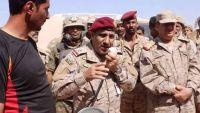 اللواء المقدشي ومساعد قائد القوات الخاصة السعودية اللواء القحطاني  يزوران  بعض المواقع  بفرضة نهم