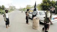 القاعدة تطرد المقاومة من زنجبار بأبين وتتهمها بالردة
