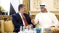 بحاح يلتقي محمد بن زايد في الامارات