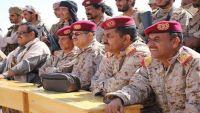 تخرج دفعة جديدة من القوات الخاصة باللواء 21 بشبوة بحضور قيادات الجيش الوطني