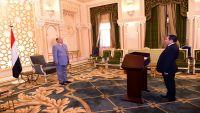 محافظ حجة يؤدي اليمين الدستورية أمام رئيس الجمهورية