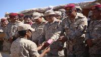 تخرج الدفعة الثانية من قوات المهمات الخاصة في بيحان بحضور رئيس الأركان (صور)