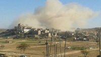 الملبشيا تفجر منزل شيخ قبلي في البيضاء