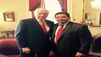بن مبارك يلتقي رئيس مجلس الشيوخ الأمريكي ويبحث معه إعادة تقديم  المساعدات في المجالات المختلفة