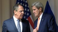 لافروف يناقش مع كيري دعم جهود الأمم المتحدة لحل الأزمة اليمنية