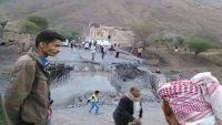 غارات لطيران التحالف أسفل نقيل السياني جنوب محافظة إب (صورة)
