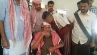 قائد مقاومة تعز يزور شبوة ويقدم واجب العزاء لأسرة المحافظ باحاج (صور)