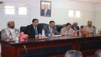 نائب رئيس الوزراء يرأس اجتماعا عسكريا موسعا بالمنطقة العسكرية الثالثة بمأرب