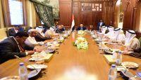 هادي يلتقي سفراء دول مجلس التعاون الخليجي ومبعوث الأمين العام للمجلس لدى اليمن