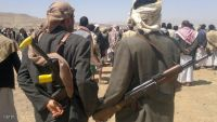 عمران : مقتل سبعة حوثيين في انفجار عبوة ناسفة بأحد مصانع إعداد العبوات الناسفة التابع للمليشيا