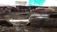 مأرب : مقتل وإصابة 14 مواطنا في انفجار عبوة ناسفة بسوق شعبي شرق المدينة
