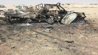 مقتل 12 من عناصر المليشيا من عمران بغارة للتحالف على تعزيزات بنهم (أسماء)