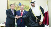 بعد مساعي قطرية.. الامم المتحدة تحث مبعوثها على سرعة الرد فيما يتعلق بضمانات الحكومة اليمنية