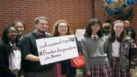 فعالية تضامنية بولاية أمريكية مع الصحفيين المختطفين في سجون الحوثي