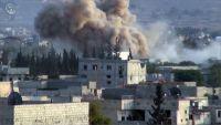 عشرات القتلى في غارات روسية بالقنابل العنقودية على مخبز في حلب
