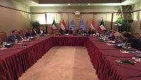 وفد الحكومة يناقش مع المبعوث الأممي إنشاء لجنة عسكرية يعينها هادي وتشرف على انسحاب الحوثيين