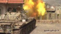 قصف هستيري للمليشيات على الأحياء السكنية ردا على هزائمها في جبهات القتال بتعز (تقرير ميداني)