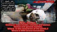 سياسيون وكتاب ينددون بتخاذل الأمم المتحدة تجاه جرائم الحوثيين بحق المدنيين بتعز
