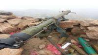 تعز : انهيارات صخرية تتسبب بفرار مليشيات الحوثي من جبل شوكة الإستراتيجي في حيفان