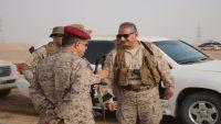 نائب قائد القوات البرية السعودية يصل محافظة مأرب