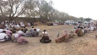 مأرب : قبائل عبيدة تؤكد وقوفها في صف الشرعية والجيش الوطني
