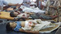 محافظ مأرب يزور أسر الضحايا الذين سقطوا عشية ليلة العيد