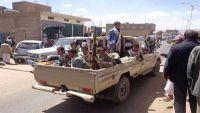 عمران: مليشيا الحوثي تقتحم مجلس عزاء أحد شهداء المقاومة وتختطف جميع الحاضرين