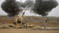 معارك وقصف متبادل على الحدود وطيران التحالف يقصف مواقع بصعدة