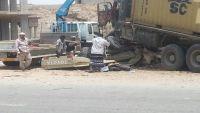مقتل 7 جنود وضابط بحادث مروري مروع بمدينة المكلا عاصمة حضرموت