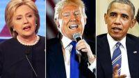 """ترامب يتراجع: تصريحاتي عن أوباما وكلينتون """"سخرية"""""""