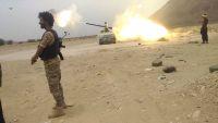 الجيش الوطني يتصدى لهجوم عنيف شنه الحوثيون على عدة مواقع بمديرية المصلوب بالجوف