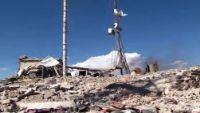 """صعدة: انقطاع تام لشبكة """"سبأفون"""" جراء استهداف طيران التحالف للمحطة الرئيسية بسحار"""