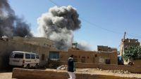 غارات مكثفة لطيران التحالف خلال الساعات الماضية على مواقع عسكرية للحوثيين في صعدة