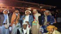 عمران :قيادي في المليشيا ينهب تموين اللواء 127 والحوثيون يزجون بطلاب المدارس في فعالية السبعين