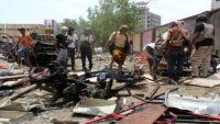ارتفاع ضحايا تفجير عدن الانتحاري إلى 60 قتيل وداعش يتبنى العملية